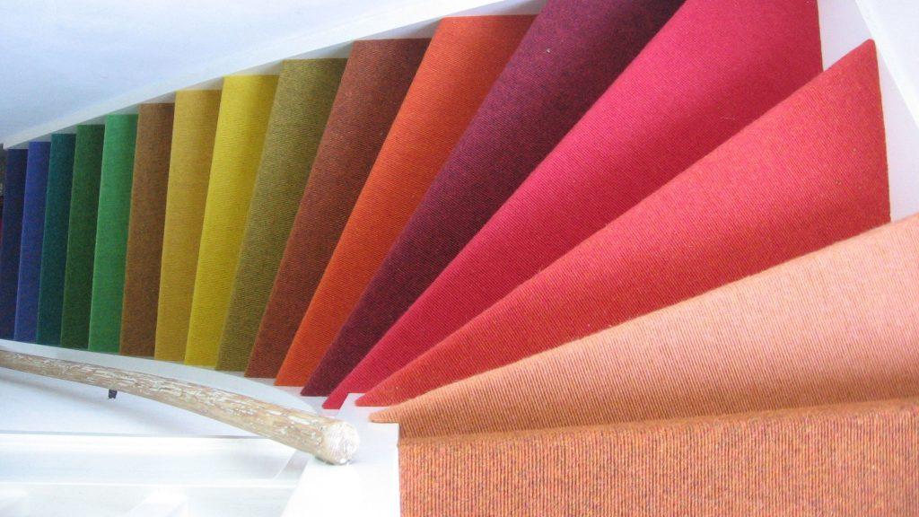 Interart trap kleuren